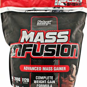 nutrex mass infusion 12 lbs