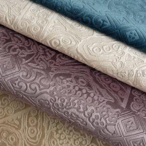 Обивочная мебельная ткань велюр Armando