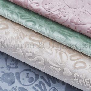 Обивочная мебельная ткань велюр Fluffy