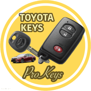 toyota key replacement