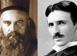 Nikolaj Velimirovic i Nikola Tesla