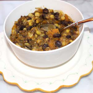 Chilean Bean Corn Stew