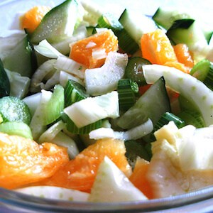 Fennel Orange Cucumber Salad