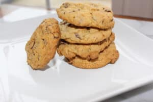 Mint Chocolate Chip Cookies—Gluten Free!