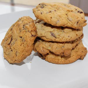 Mint Chocolate Chip Cookies (Gluten Free)