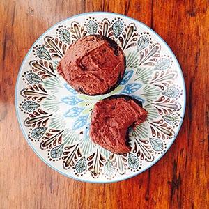 Gluten free chocolate cupcakes (dairy free)