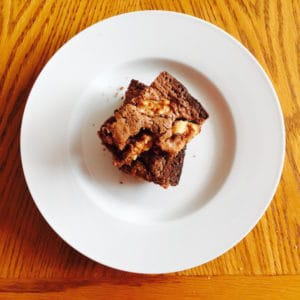 Brownies Gluten Free Dairy Free (with nuts)