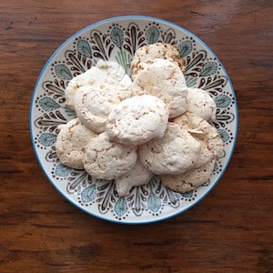 Coconut Kiss Cookies (vegan)