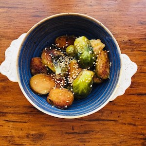 Sauteer Brussels Sprouts