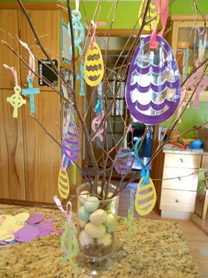 Second Chance to Dream: Thank you Jesus Easter Tree