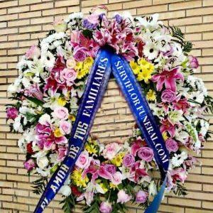 Corona funeraria Descanso eterno