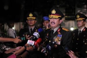 Budi Gunawan menjawab pertanyaan wartawan usai pelantikan, Jumat (9/9), di Komplek Istana Kepresidenan, Jakarta. (Foto: Humas/Jay)