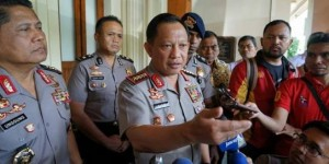 Kapolri Jenderal Tito Karnavian menjawab wartawan, di Mabes Polri, Rabu (4/1) pagi