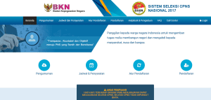 laman sscn.bkn.go.id