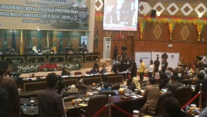 Foto Pemilihan salah satu gubernur
