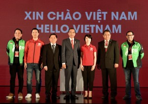President Jokowi attends Go-Viet Launching at Melia Hotel, Hanoi, Vietnam, Wednesday (9/12). (Photo by: BPMI)