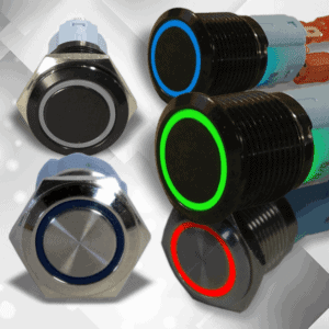 Metal Push Button Momentary Switches