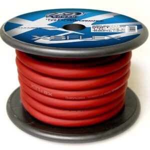 XS Power 10 AWG Gauge XS Flex 100 Oxygen Free Tinned Copper Power and Ground Cable 50ft spool XSFLEX0RD 50 Iced Red 300x300 - XS Power 1/0 AWG Gauge XS Flex 100% Oxygen Free Tinned Copper Power and Ground Cable 50ft spool