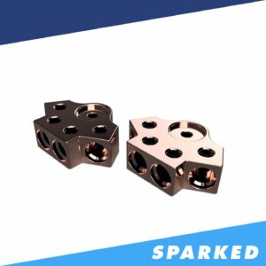 PAIR 4 Spot 1 0AWG Copper Terminal Blocks TB 704v2 XS Power 300x300 - PAIR 4-Spot 1/0AWG Copper Terminal Blocks TB-704v2 XS Power