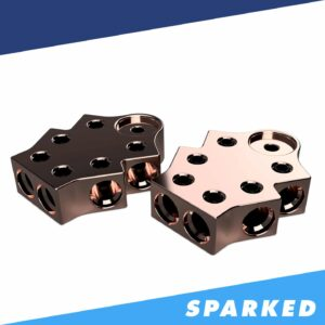 PAIR 6 Spot 1 0AWG Copper Terminal Blocks TB 706v2 XS Power 300x300 - PAIR 6-Spot 1/0AWG Copper Terminal Blocks TB-706v2 XS Power