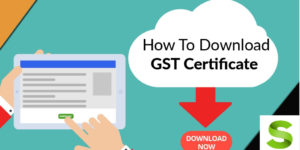 gst certificate download