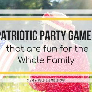 Looking for 4th of July party ideas? Once you have the food and decorations planned, all you need are some fun DIY 4th of July Party Games. Perfect for adults and for kids these games will get you using your hands, water, flags and bean bags to have a blast. #4thofjuly #patriotic #memorialday #partygames