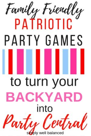 Patriotic games to play with your family