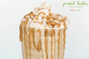 Peanut Butter Milkshake Recipe