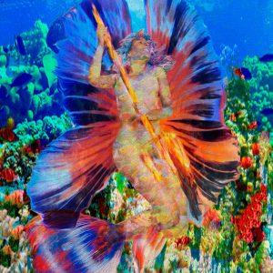 Art Mermaid Himeropa - Artist Henrique Vieira Filho