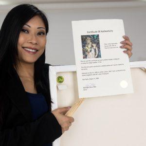 Certificado de Autenticidade Para Suas Obras