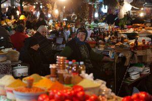 Stadterkundung, Kutaissi, Georgien, Markt, Basroba, Kutaisi, Georgia, Green Bazaar