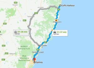Map Eastern Australia.Ultimate East Coast Of Australia Road Trip Guide Itinery Tips 2019