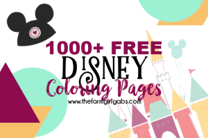 Need a fun activity for the kids? Grab some crayons and have fun coloring these FREE 1000 Free Disney Coloring Pages. This massive collection of Disney Coloring pages has all your favorite Disney Characters like Mickey Mouse, Buzz & Woody and even your favorite Avengers! Download your copies today! #DisneyColoringPages #DisneyCraft #WaltDisneyWorld #DisneyCharacters #MickeyMouse #Marvel #StarWars #Avengers #ColoringPages #FreeColoringPages
