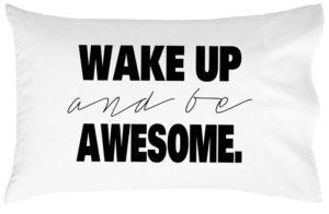 Wake Up Pillow