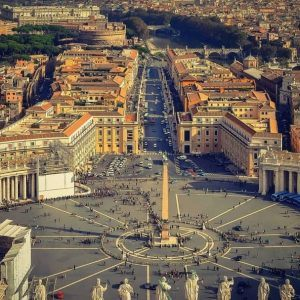 St. Peter's Square from the Basilica