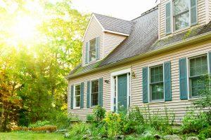 Haus, Sonnenschutz außen