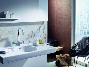 Waschbeckenarmatur, Bad, Wasserhahn, Sanitäre Anlagen, Badarmatur