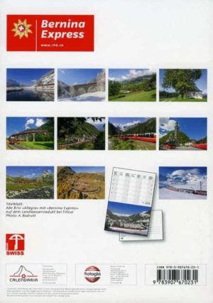 Kalender Bernina Express – 2019