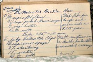 Butterscotch Brickle Bars