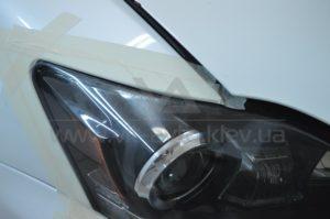 Оклейка фар Lexus IS 250 фото 4