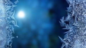 Winter frost design