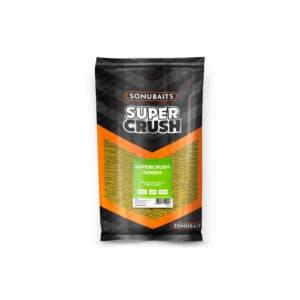 Sonubaits Grundfutter Supercrush Green