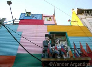 A colorful house in the historic La Boca, Buenos Aires. Check out the city tours on Wander Argentina