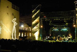 The Roxana Amed Quintet playing at the Centro Cultural Recoleta at the Buenos Aires Jazz Festival