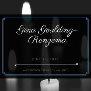 Gina Marie Goulding-Renzema