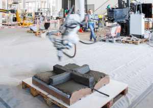 The researchers made a prototype slab