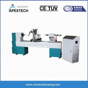 B1530 Single Axis Spindle Hollowing Broaching Carving Wood CNC Router Lathe, widely used cheap hot sale durden made in china Cnc Wood Copy Lathe Machine For Furniture