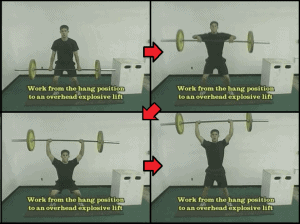 baseball strength training 4 hanging snatch