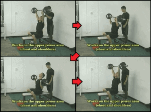 baseball strength training 5 military press