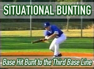 situational bunting